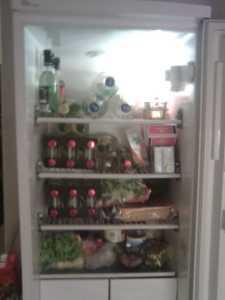 Helgens kjøleskap.
