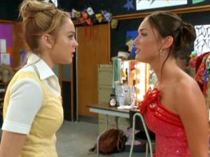 young_megan_fox_vs_lindsay_lohan_confessions_of_a_teenage_drama_queen_red_carpet_400x300